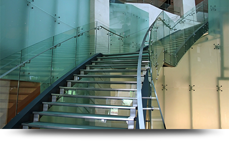 Elite Glass Glass handrails